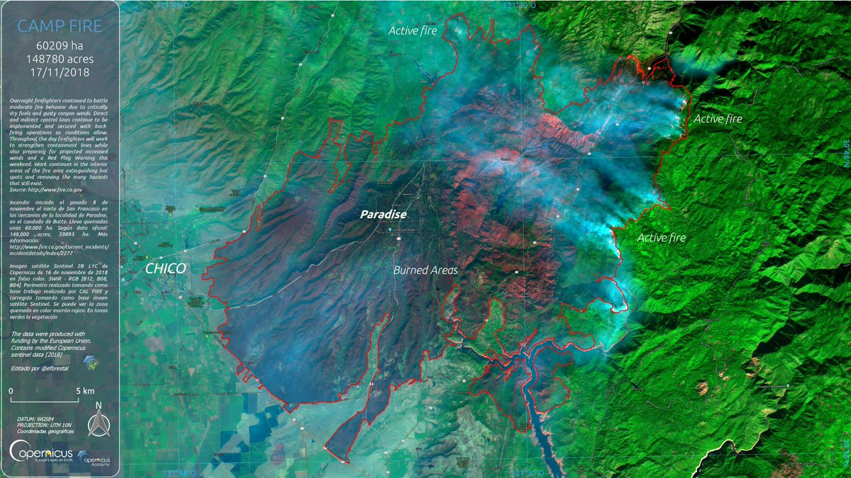 Calculations Measure Burn Scar At  Km2 148780 Acres Official Information
