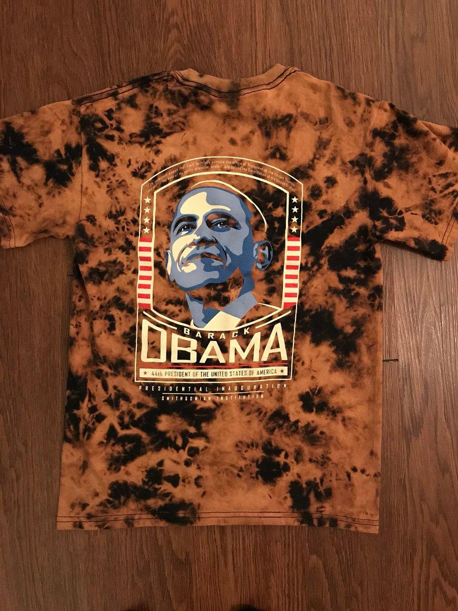 1dedafe19 ... addition to my  etsy shop  Obama Inauguration - One of a Kind Tie Dye T- Shirt https   etsy.me 2Ka0pMU  clothing  shirt  black  s  shortsleeve  crew  ...