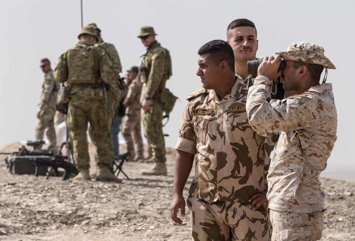 جهود التحالف الدولي لتدريب وتاهيل وحدات الجيش العراقي .......متجدد - صفحة 5 DsPMNwMXcAYTFDX