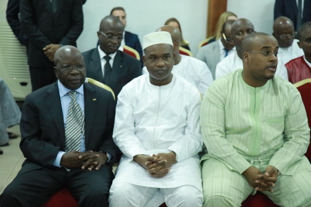 Karim Keita On Twitter à Abidjan Pour Présenter Mes