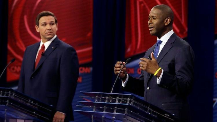 Florida gubernatorial race: Democrat Andrew Gillum says he is ending his hard-fought race for governor and has congratulated Republican Ron DeSantis https://t.co/p0IMVx9xwS