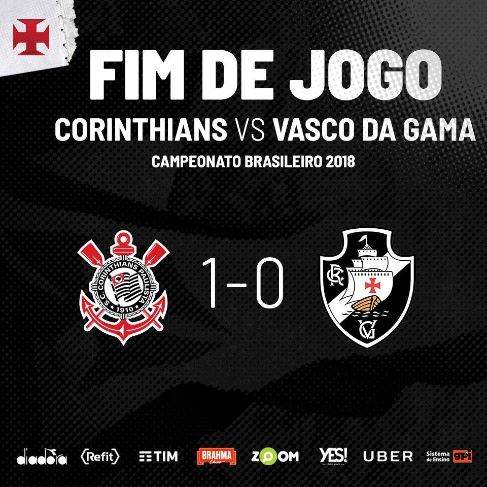 Fim de jogo em São Paulo.  #VascoDaGama
