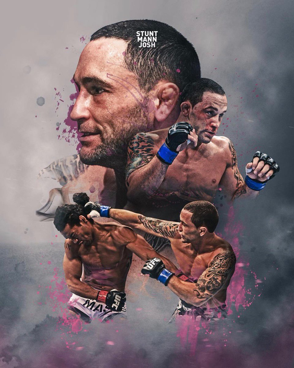 Featherweight is home for @FrankieEdgar I like being the little guy in there battling the big dudes. I like to show that hard work & technique can overcome anything Art by @StuntMannJosh_M mmanytt.com/exclusive/fran… #UFC #MMA #WMMA #TeamMMA4LIFE #PeoplesMMA
