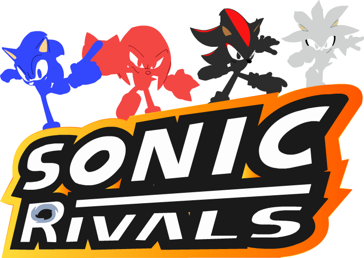 Liaserenityrose On Twitter Here Is Sonic Rivals Logo With Illustration Sonicthehedgehog Sonicrivals Sonic