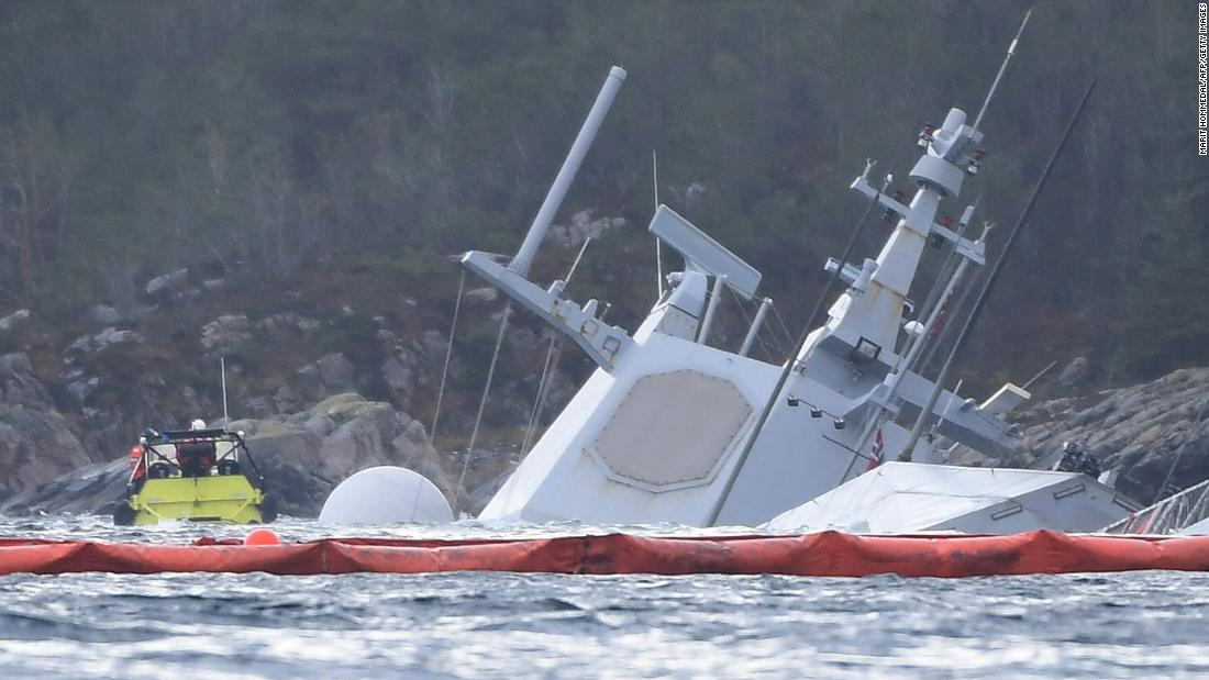 Norway stunned as warship sinks after collision https://t.co/hGBEbvRl8F
