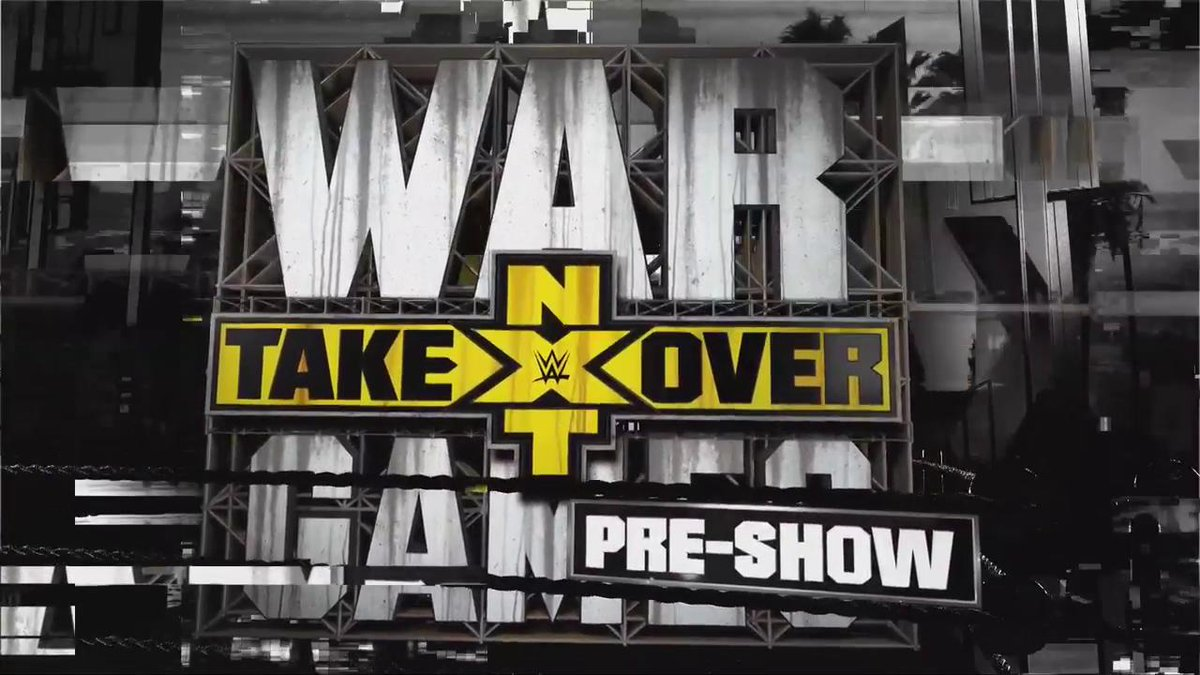 We are LIVE in the #CityOfAngels for the #NXTTakeOver #WarGames II Pre-Show!