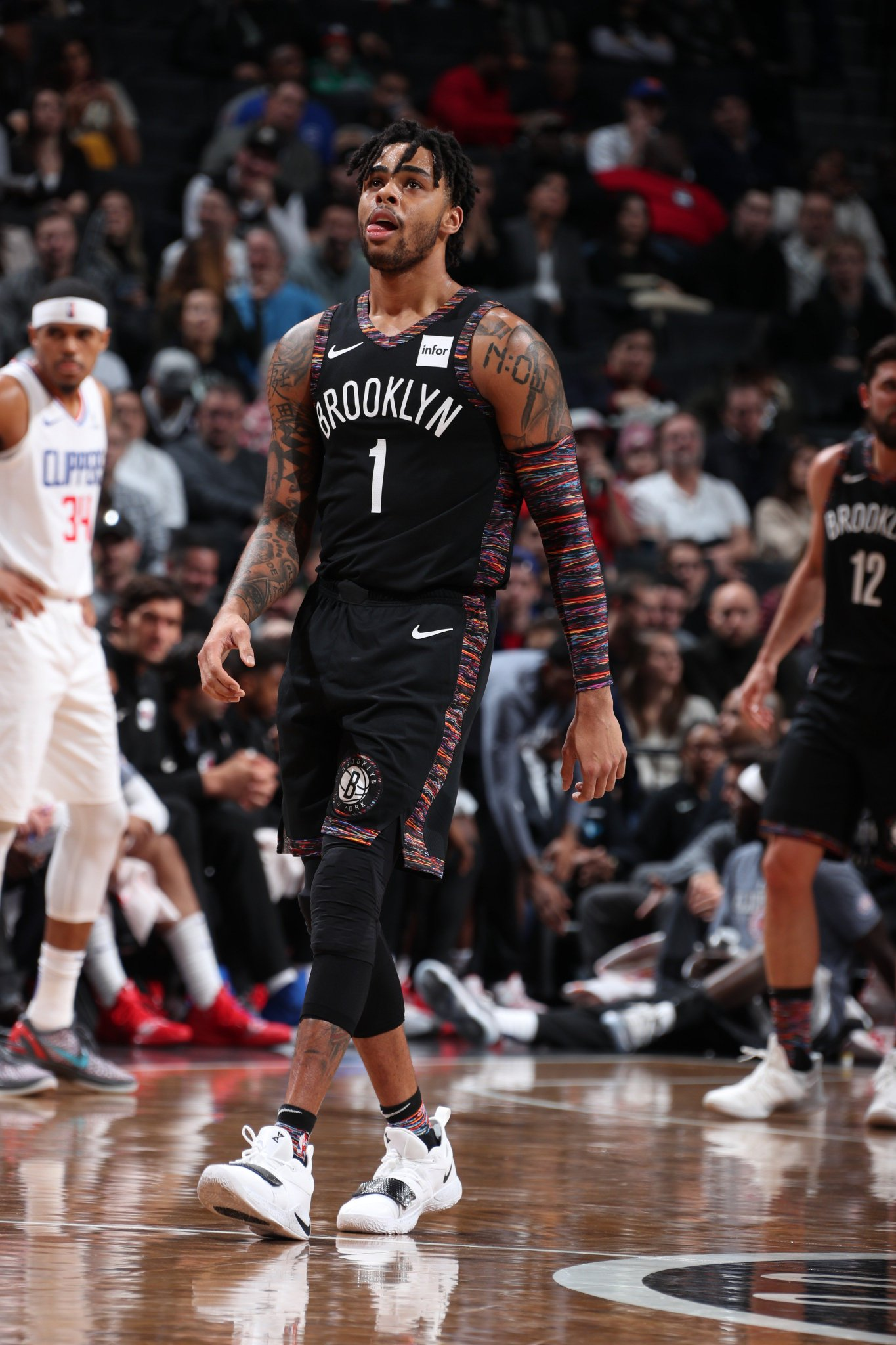�� #NIKExNBA City Edition THREADS ��  D'Angelo Russell | #WeGoHard https://t.co/APs8POkeFu