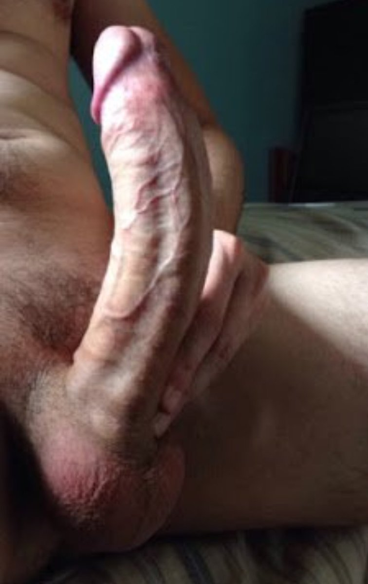 Slowly stroking my cock