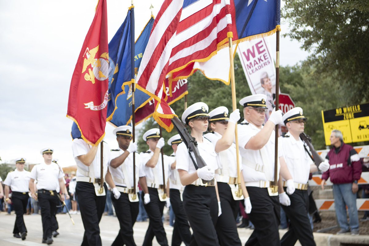 Cadets from Texas A&M- Galveston
