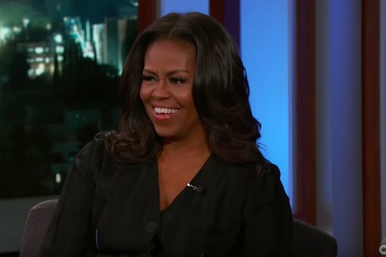 Michelle Obama tells Jimmy Kimmel about a time when First Ladies could be friends: https://t.co/ZkMLMvR47e