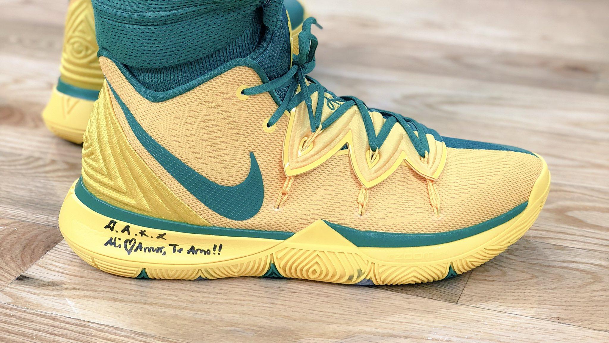 Kyrie Irving's #NBAKicks.  ��: @NBATV https://t.co/2DoBtkBP5S