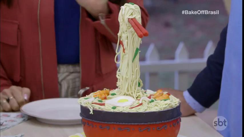 Que demais! Ricardo dando show #BakeOffBrasil