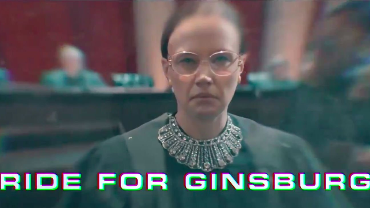 Pete Davidson raps about Ruth Bader Ginsburg in #SNL music video https://t.co/Q7tbncnpVg https://t.co/i9c6tf5qU6