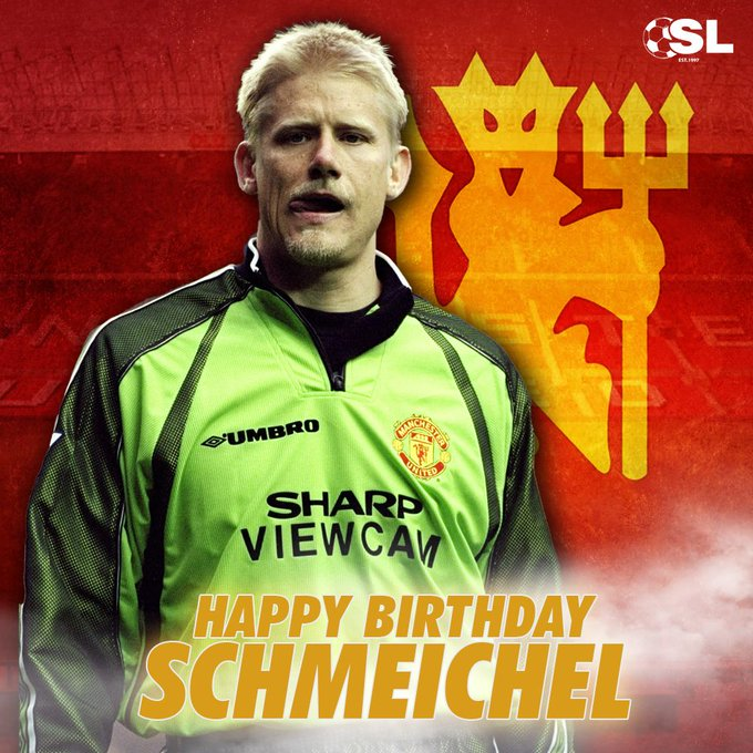 | Happy Birthday to Manchester United legend, Peter Schmeichel!
