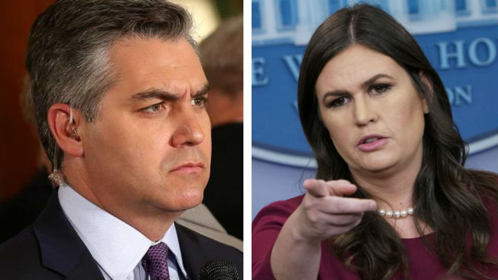 Sanders lashes out at Acosta: If he can't act like an adult, 'CNN needs to send somebody else' https://t.co/7kgIPqxInN