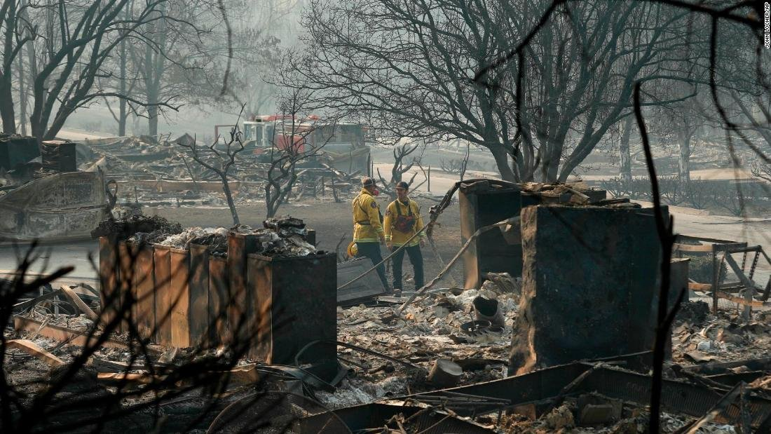 Death toll from California's Camp Fire rises to 76 as searchers find five more remains https://t.co/avDV09iGNy