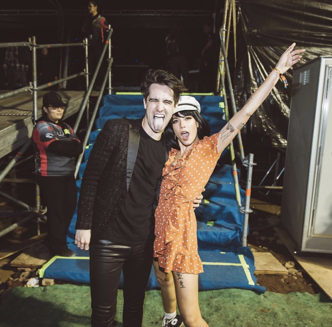 Halsey and Brendon tonight! 📸:@JakeChams