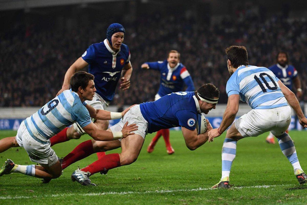 #Rugby | Los Pumas perdieron con Francia 28-13