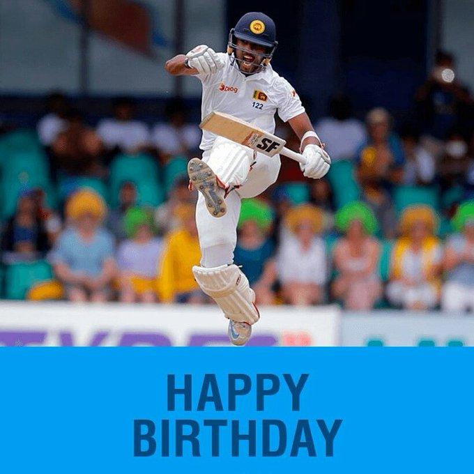 Happy Birthday to our Test skipper Dinesh Chandimal