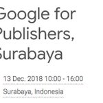Image for the Tweet beginning: Google for Publishers kembali lagi