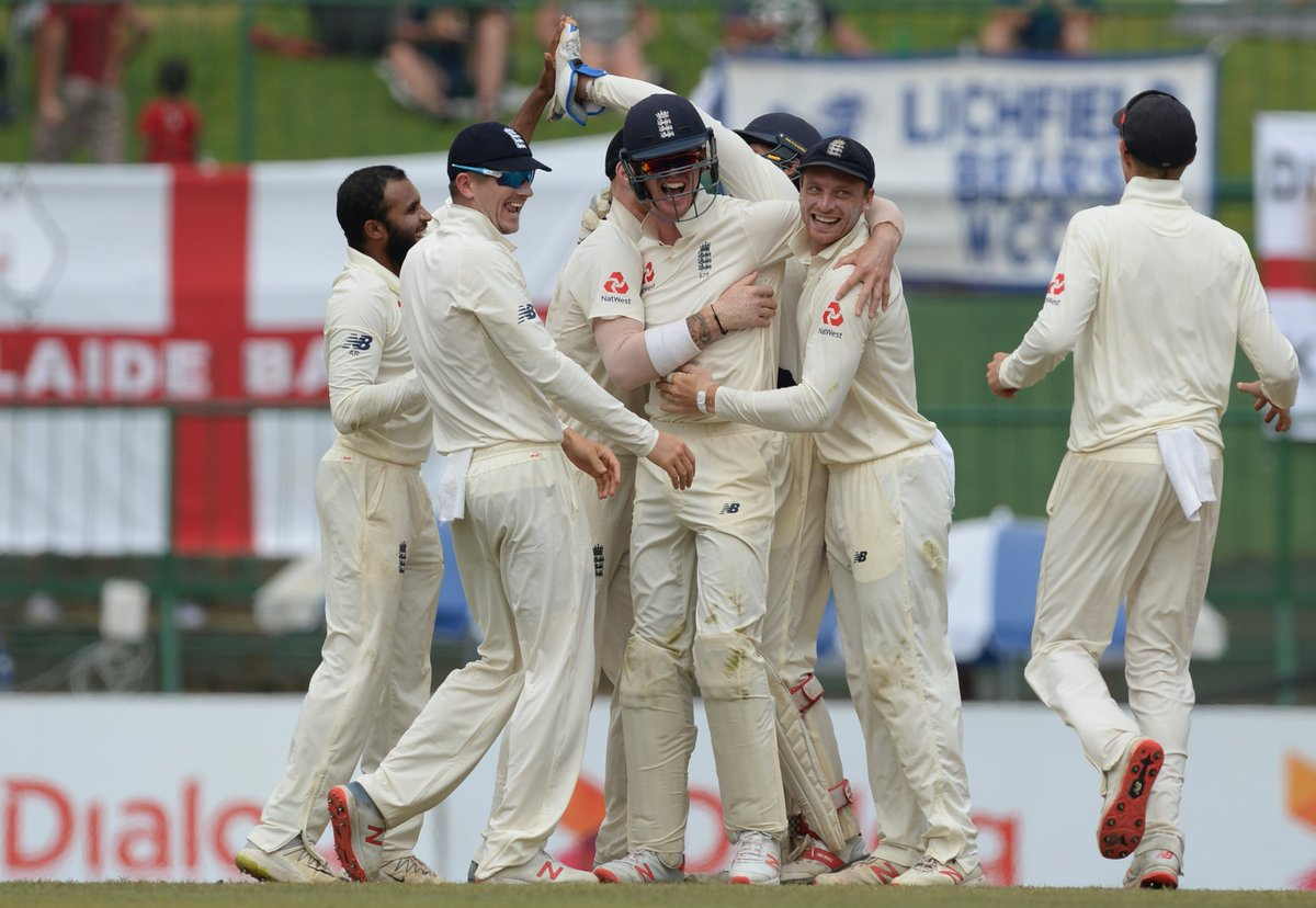 Sri Lanka need 75 runs to win the second Test while England need only three wickets.  Can the hosts level the series or will Joe Root and Co. seal it today?  #SLvENG DAY 5 ⬇️  https://t.co/5vr8plkNtF