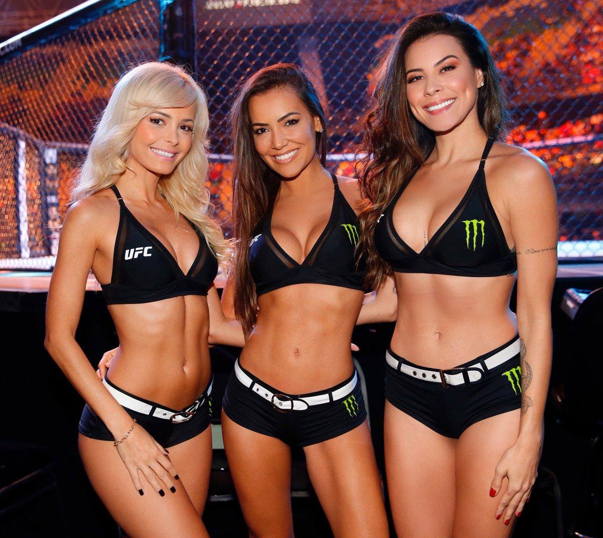 What a trio 😍 @JhennyUFC   @LucianaAndrade   @CamisOliveira_ #UFCArgentina