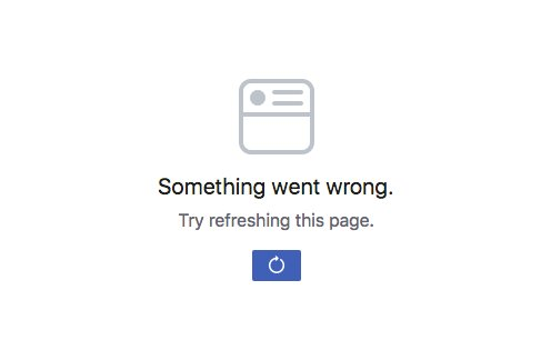 Is something wrong with your Facebook news feed too? #FacebookDown