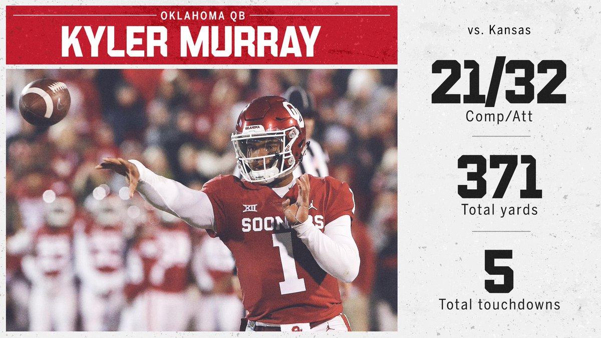 Kyler knows big stats.