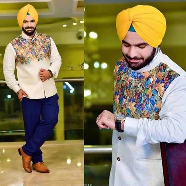 43914d4dd8 #urbansardar #sikhfashion #sardar #sardarni #sikh #turban #pagh #pagg  #yellowturban #theurbansardar #mensstyle #mensfashion #menswear #stylish  #style ...
