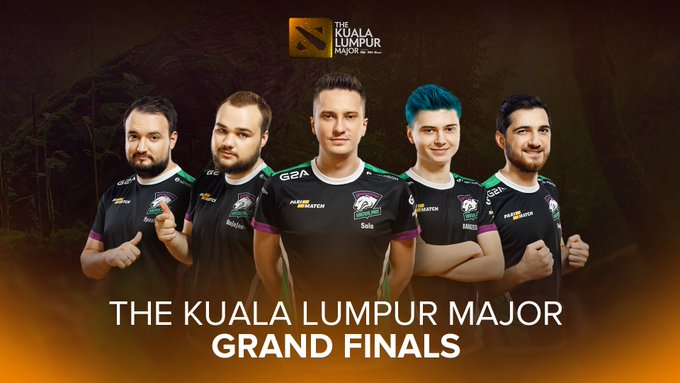 We are secure our spot in the #TheKualaLumpurMajor Grand Finals! 💪🏻 GGs @EvilGeniuses! 🤝 See you soon @teamsecret Фото
