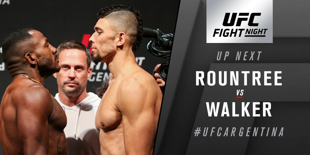LHWs up at #UFCArgentina, as @War_Khalil takes on @JohnnyWalkerMMA on @TSN_Sports 5 & @RDSca 2