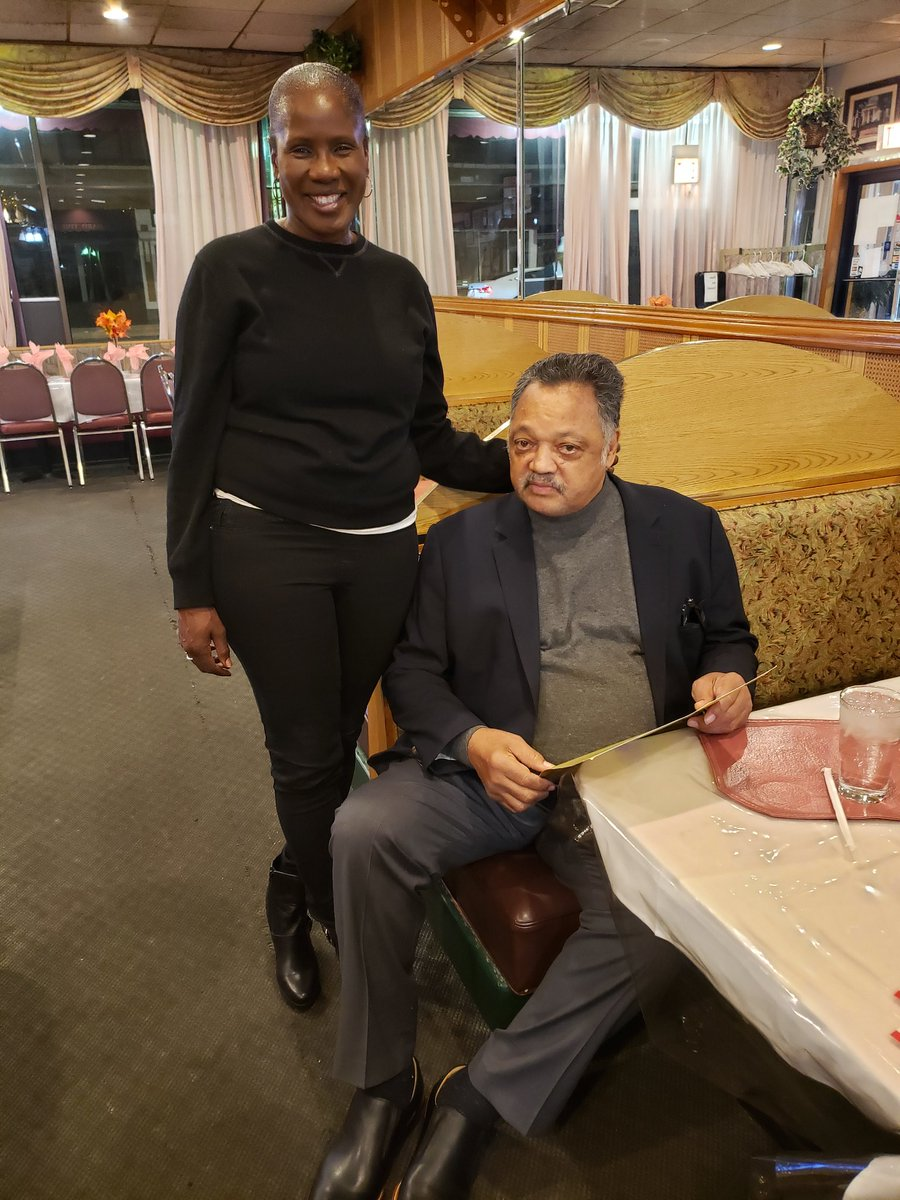 Dinner and conversation with living legend Jesse L Jackson