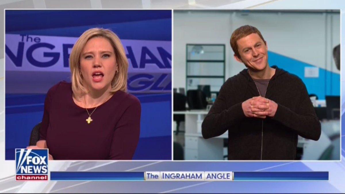 #SNL cold open trolls Mark Zuckerberg and Fox News https://t.co/JSy2v5Y00w