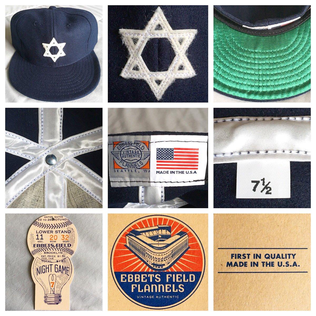 Miami - 8.15.2018  EbbetsVintage  HebrewOrphanAsylum  IndependentLeague   NewYorkCity  EbbetsFieldFlannels  EbbetsVintage  EbbetsFam  Jewish   vintage  fitted ... ad3a2d1df
