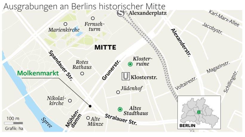 Berlins historische Mitte wird freigelegt https://t.co/AnGbQWhGEV