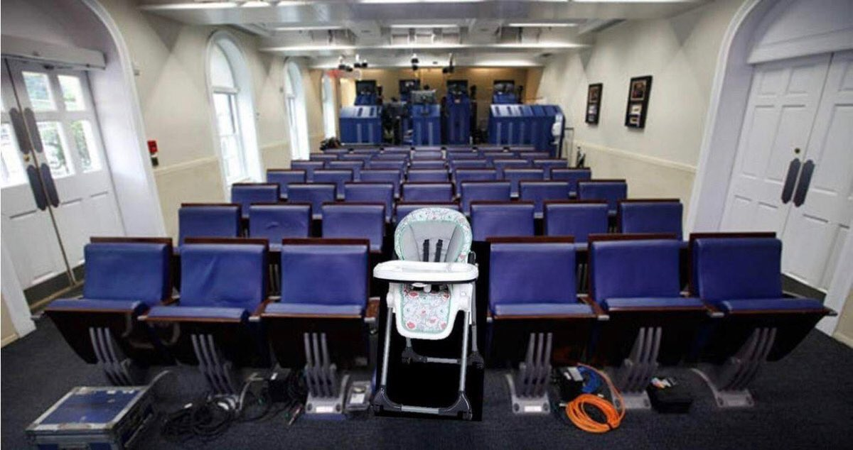 RT @MarineTimLee: The White House press room is ready for Jim Acosta's return. Good night America. 😂  #Acosta https://t.co/eBsBtLOmvc