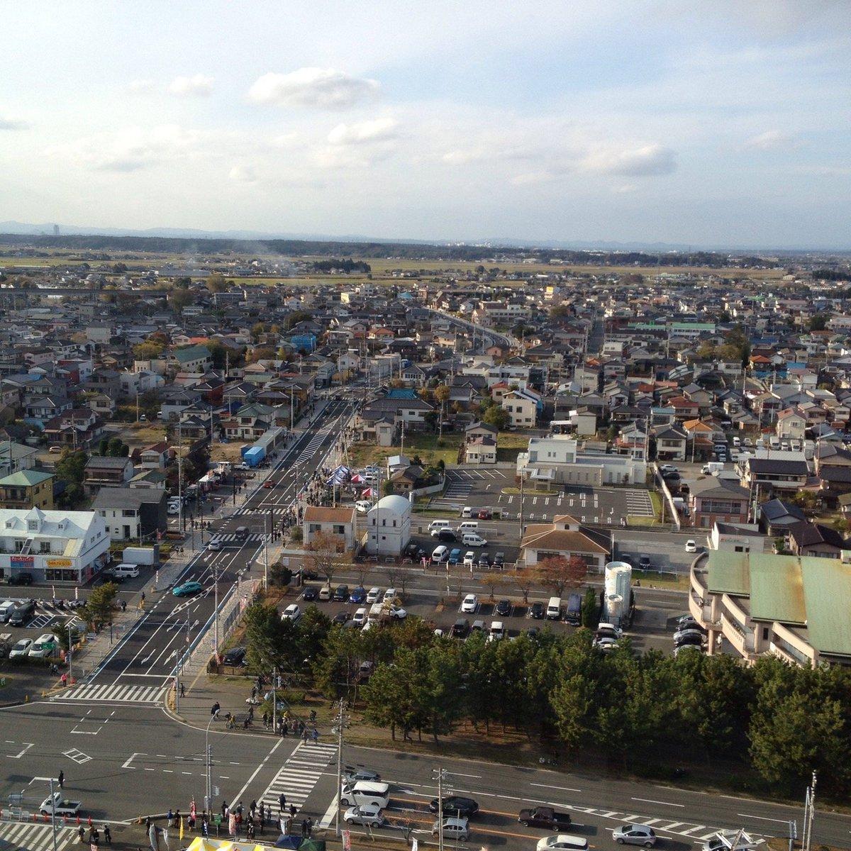 大洗マリンタワー 展望台(鹿島臨海鉄道)