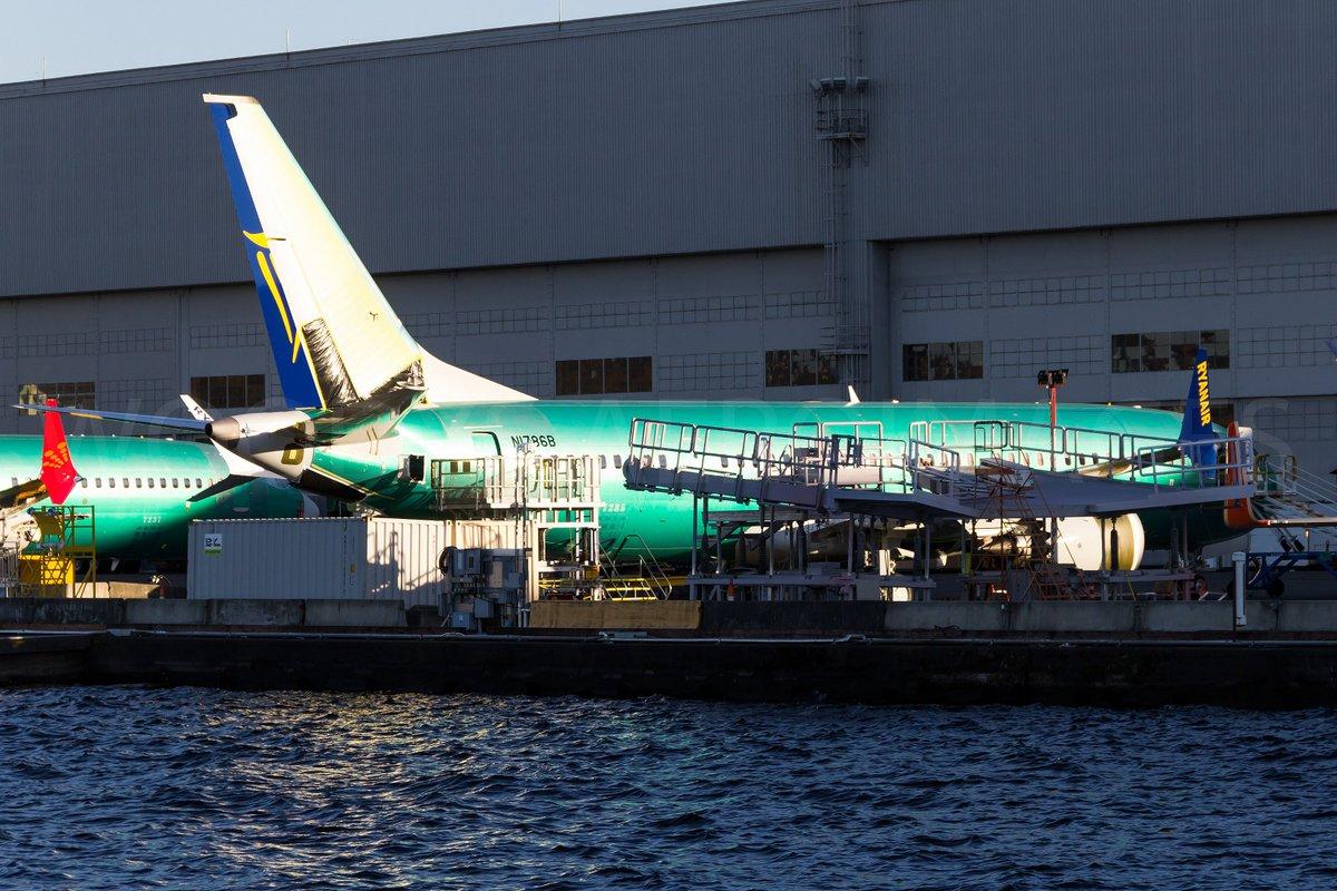 1er Boeing 737 MAX 200 sale de fábrica |