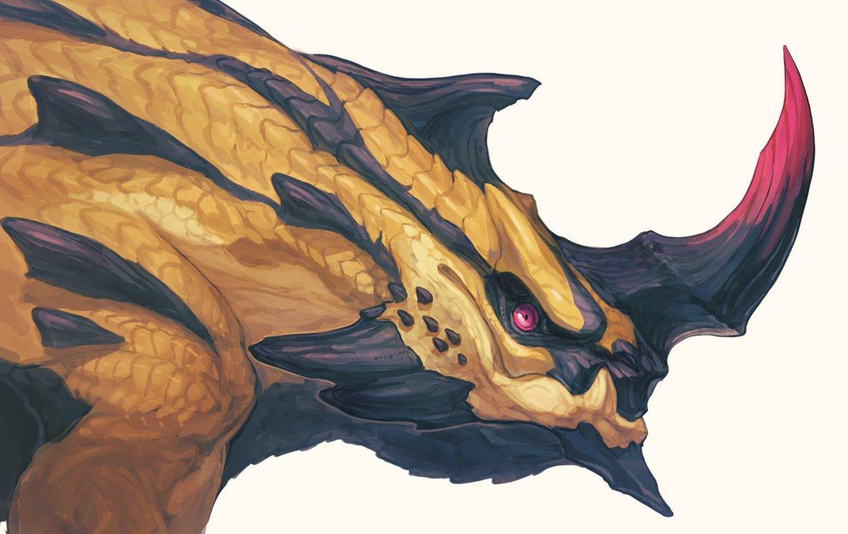 Beetle Dragon #竜とけもの図鑑 #GOMALEMO_WORKS #CREATURES