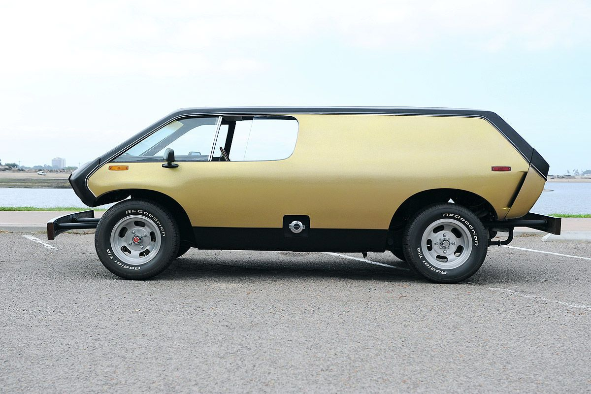 The truly #weird #1970s #Brubaker Box, designed to fit on a #Volkswagen #Beetle chassis. Allegedly the 1st #Minivan. Very few of these #quirky rides made, consequently theyre sought after!