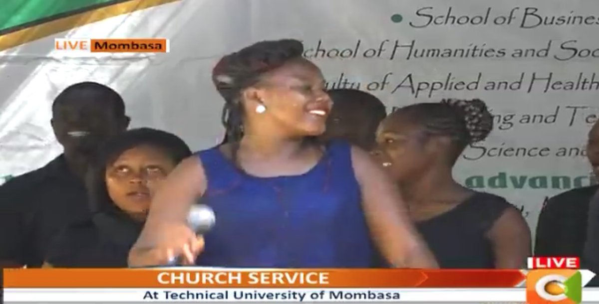 Praise and worship session ongoing led by Susan Mwalimu. Stay tuned #GospelSunday