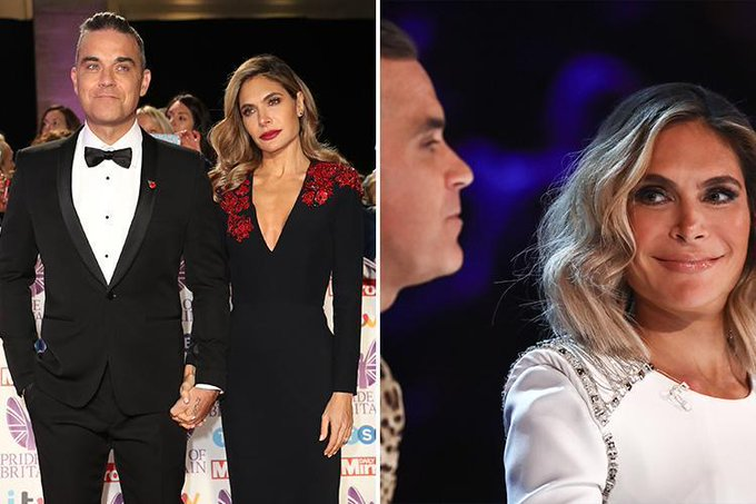 Ayda Field has major plans after Robbie Williams continues to miss #XFactor live shows Foto