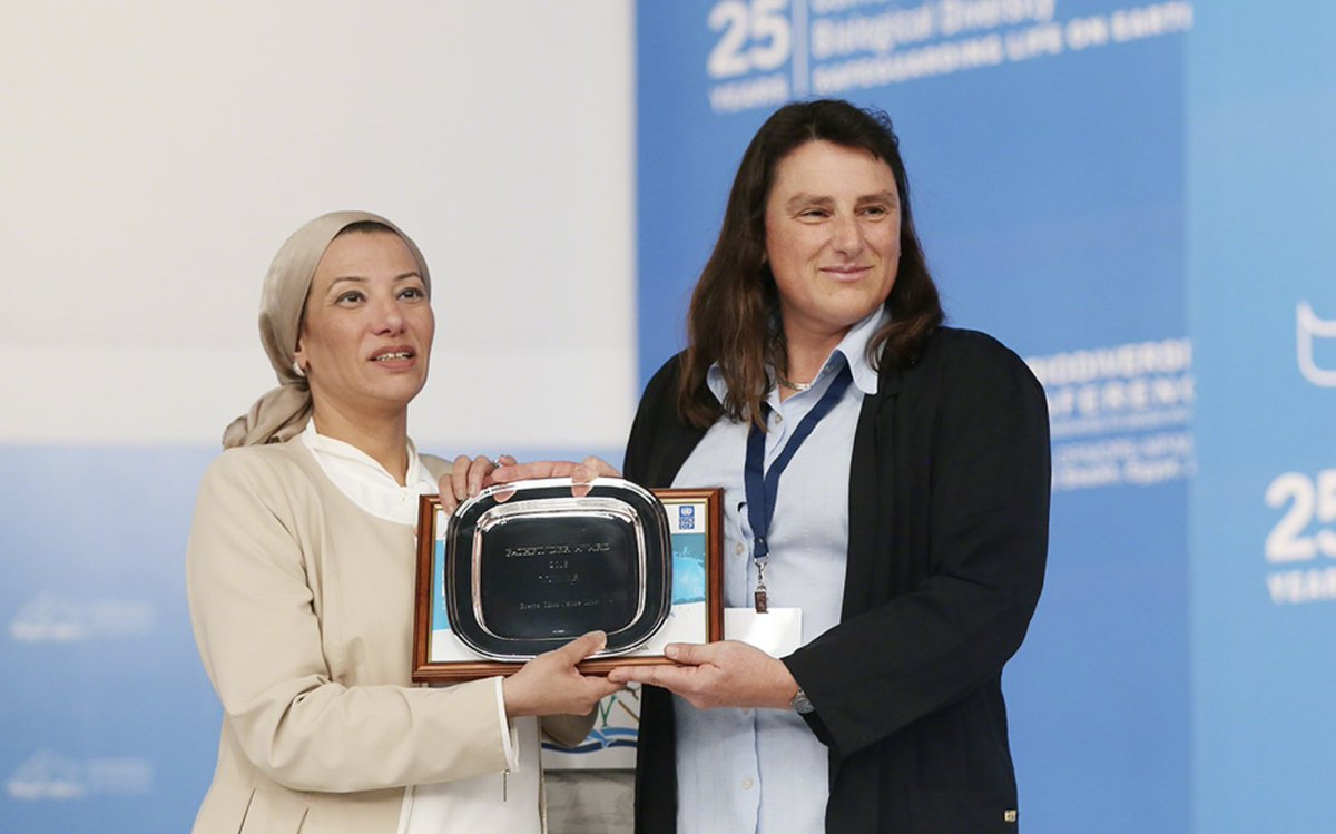 We warmly congratulate Prespa Ohrid Nature Trust for receiving this award! #Prespa #sustainablefinance