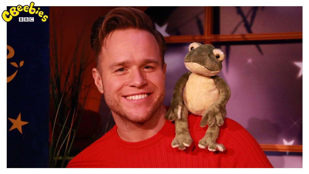 Gather your little Troublemakers around the TV! 😉   The lovely @ollyofficial will be our Bedtime Story reader tomorrow night! 💜   #BedtimeStory