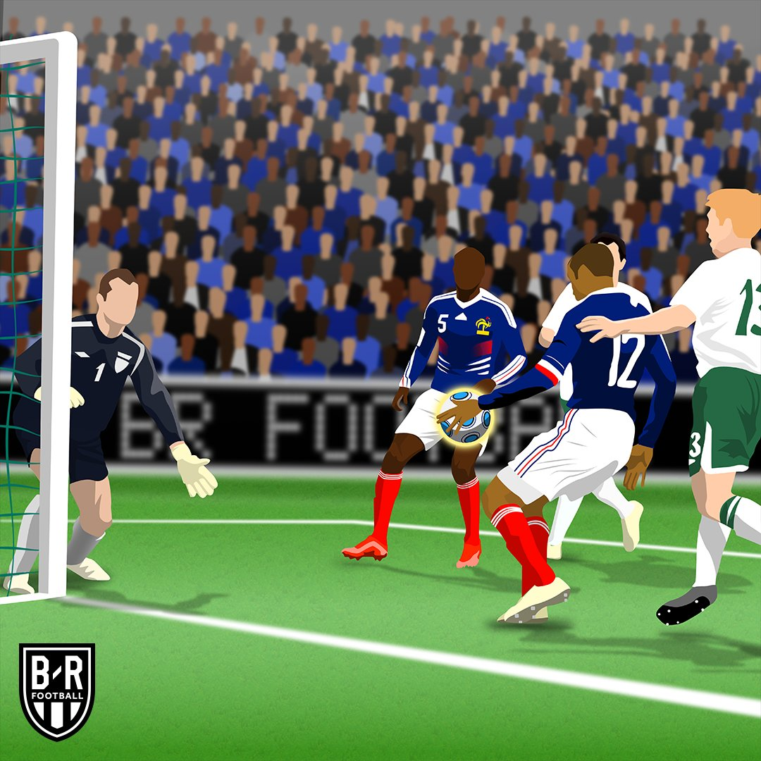 Nine years ago today—Thierry Henry and THAT handball vs. Ireland 😲