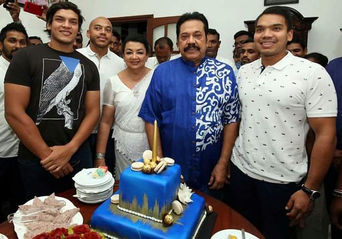 ....      his excellency Mahinda Rajapaksa