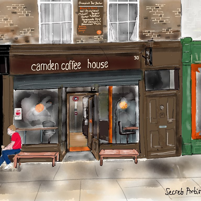 Camden Coffee House On Twitter From The Very Talented