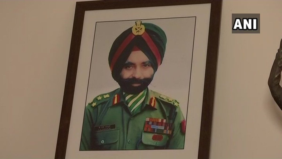 Family and friends pay tribute to 1971 India-Pak war hero Kuldeep Singh Chandpuri who passed away yesterday 'He came back to India from Canada and held the soil in his hand saying, 'I've won another battle' and passed away 8 days later' says his son Hardeep Singh Chandpuri