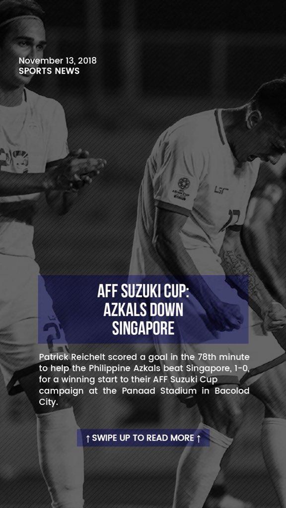 AFF Suzuki Cup: Azkals down Singapore  READ: https://t.co/plTHLBNed4