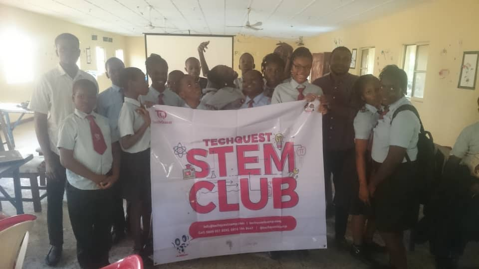 Techquestcamp Osun On Twitter Pictures Of Our Stem Club Members At